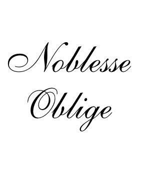 Logo Noblesse Oblige
